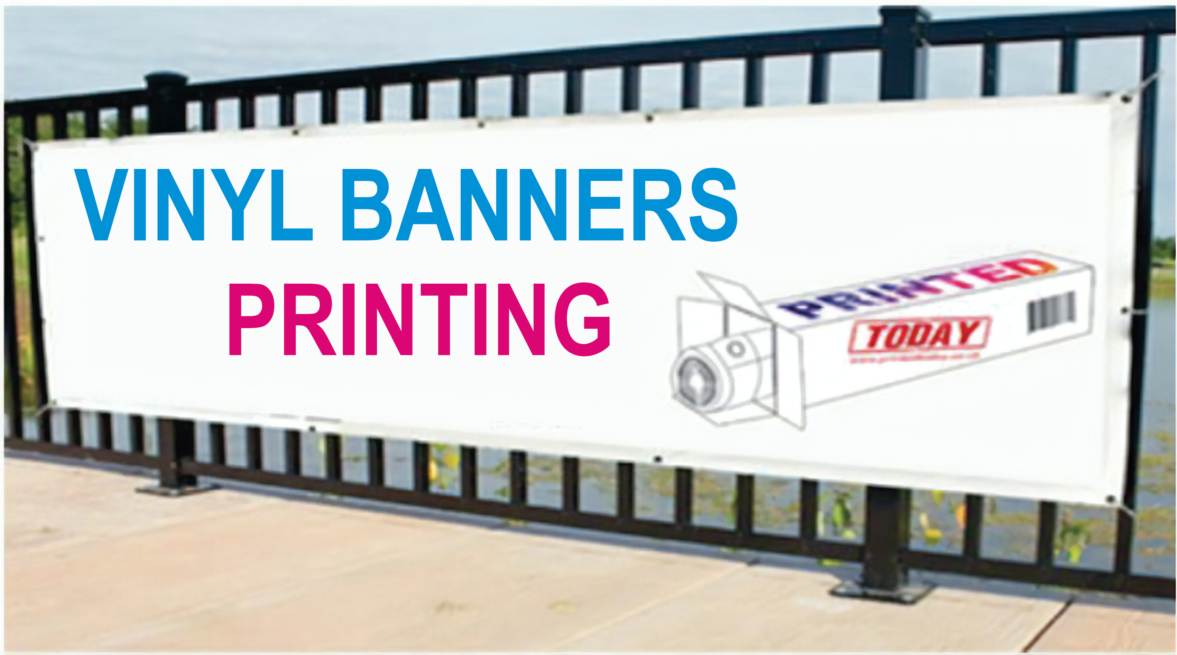 5ft x 12ft PVC MESH BANNERS PRINTED OUTDOOR ADVERTISING SIGN DISPLAY