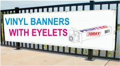 Vinyl Banners With Eyelets