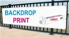 Backdrop Print