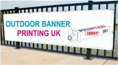 Outdoor Banner Printing Uk