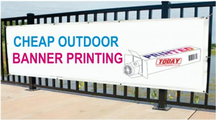 Cheap Outdoor Banner Printing
