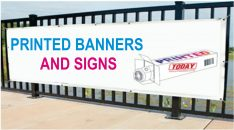 Printed Banners And Signs